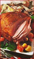 Photo of Honey Whiskey Clove-glazed Ham