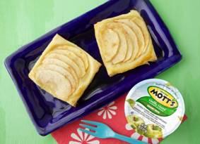Mott's Apple Sauce Puff Pastry Tarts